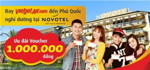 Bay Vietjet, tưng bừng nhận ưu đãi tại Novotel Phú Quốc Resort